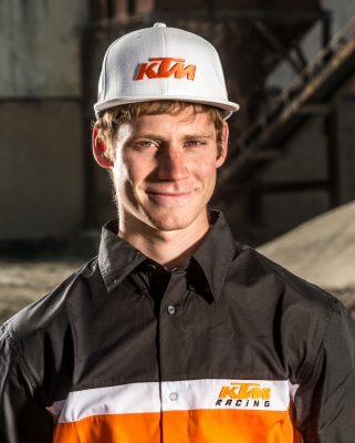Andy Baumgartner Motocross Fahrer aus der Ostschweiz