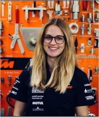 Michelle Zünd Motocross Fahrerin aus der Ostschweiz